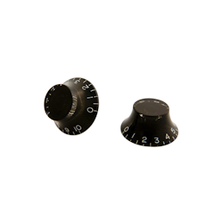 Load image into Gallery viewer, Gibson PRHK-010 Top Hat Knobs, Black (4 pcs.)