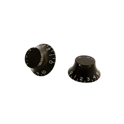 Gibson PRHK-010 Top Hat Knobs, Black (4 pcs.)