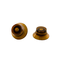 Gibson PRHK-030 Top Hat Knobs, Vintage Amber (4 pcs.)
