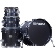 Load image into Gallery viewer, Roland VAD506 Acoustic Design Electronic Kit, Midnight Sparkle Wrap
