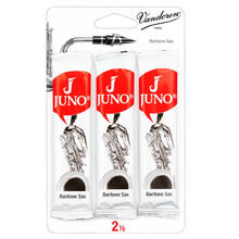 Load image into Gallery viewer, Vandoren JSR8125/3 Juno Bari Sax Reeds - Strength 2.5 (3-Pack)