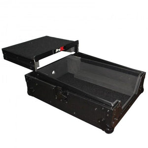 "ProX XS-M12LTBL Universal 10"" - 12"" Mixer Case 15"" deep with Sliding Shelf"