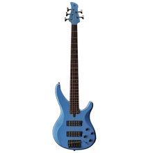 Load image into Gallery viewer, Yamaha TRBX305-FTB 5-string eletric bass, 2-band EQ, Factory Blue