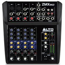 Load image into Gallery viewer, Alto Pro ZMX862 6 Channel Compact Mixer