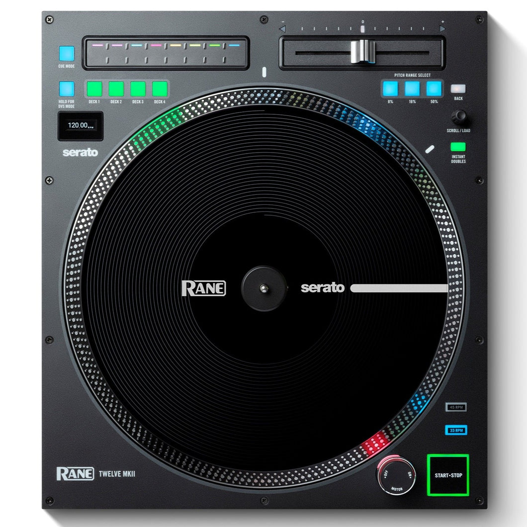 "Rane TWELVE-MKII 12"" Motorized Turntable Controller with a True Vinyl-Like Touch"
