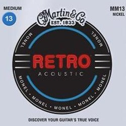 Martin MM13 Retro Medium Guitar Strings