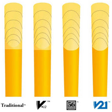 Load image into Gallery viewer, Vandoren CR8035 V21 Bb Clarinet Reeds - Strength 3.5 (Box of 10)