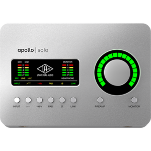 Universal Audio APLS Apollo Solo TB3 Audio Interface