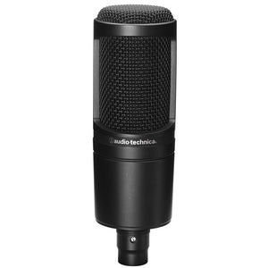 Audio-technica AT2020 Studio Cardioid Condenser Microphone