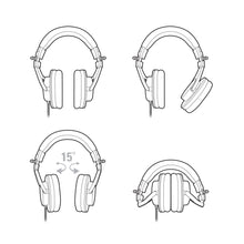 Load image into Gallery viewer, Audio-technica ATH-M30X Closed-back Studio Headphone