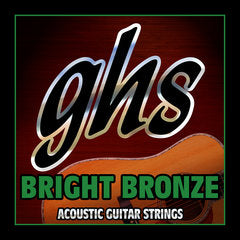 GHS BB60X Bright Bronze 12 String Acoustic Guitar 9-42