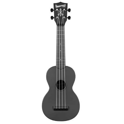 Kala Kala KA-SWB-BK Waterman Soprano Ukulele, Black - Easy Music Center