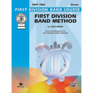 Alfred FDL00111A First Division Method Book 2 - Drums