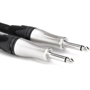 Hosa SKJ-2100 Edge Speaker Cable Neutrik 1/4 in TS to Same 100 ft