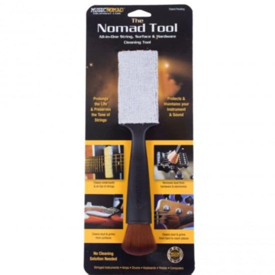 Music Nomad MN205 The Nomad Tool - String, Surface & Hardware Cleaning Tool