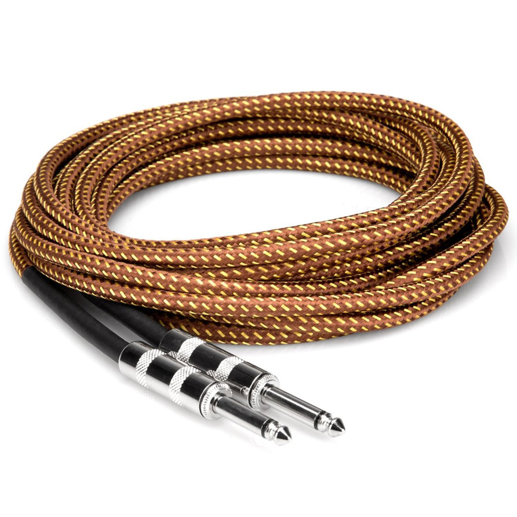 Hosa GTR-518 Tweed Guitar Cable 18 ft