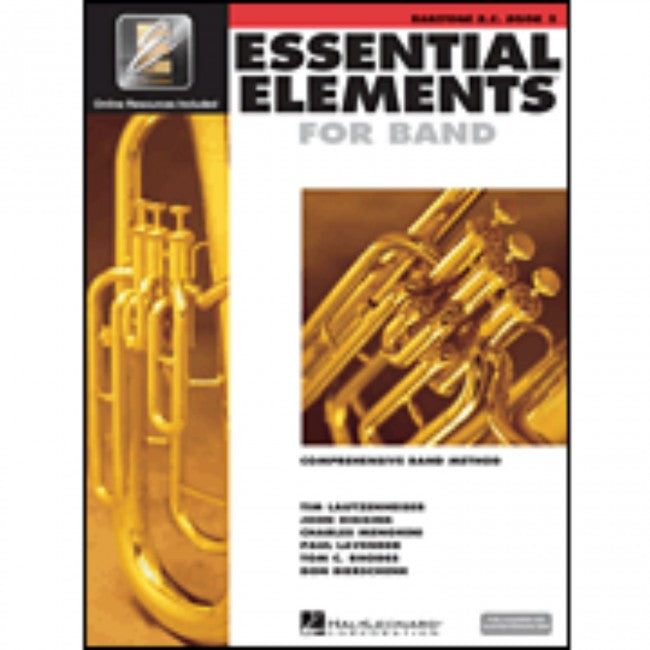 Hal Leonard HL00862600 Essential Elements Book 2 with EEI - Baritone BC