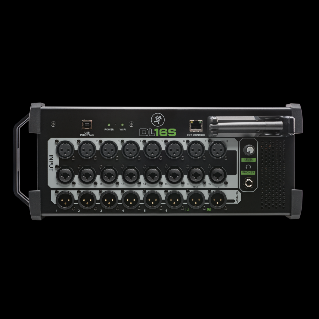 Mackie DL16S 16-Channel Digital Rack Mixer