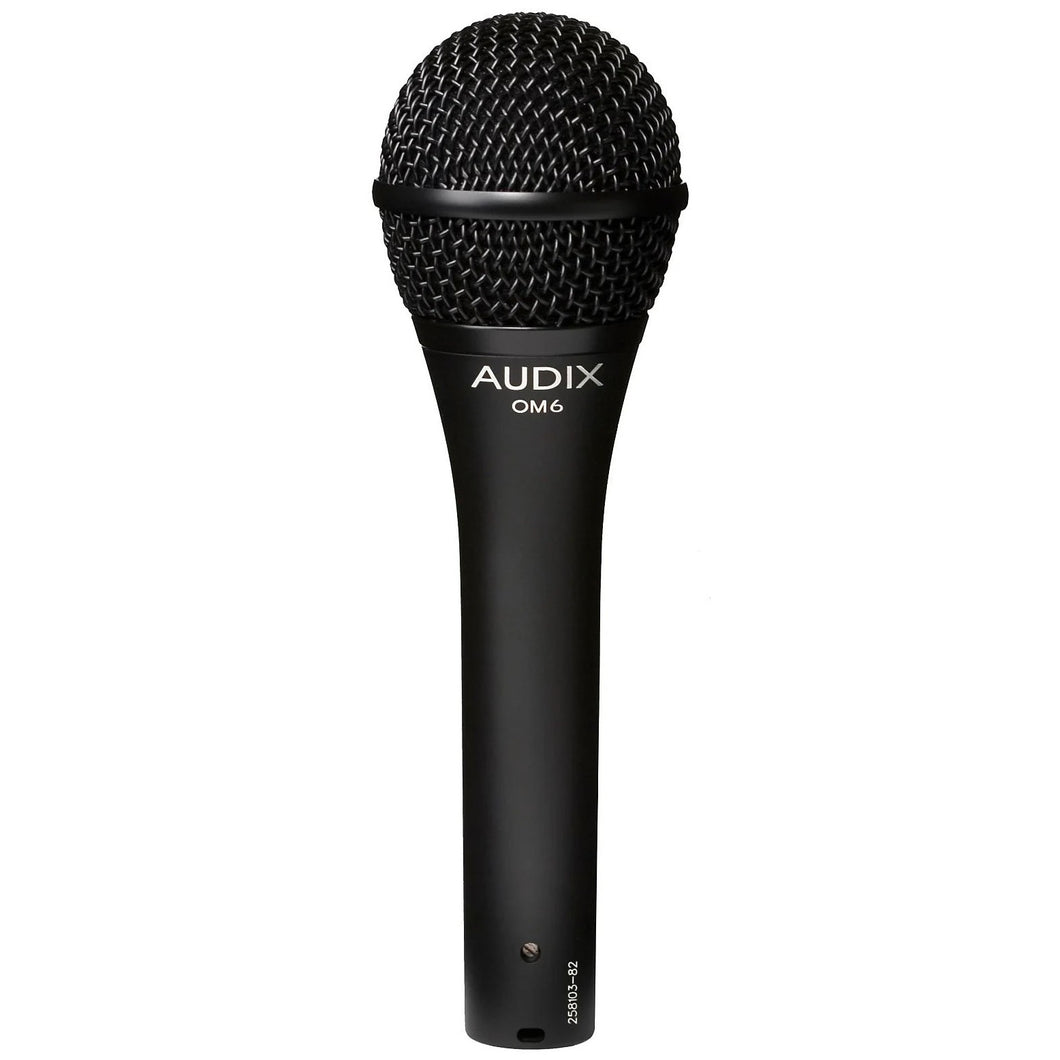Audix OM6 Dynamic Hypercardioid Handheld Microphone