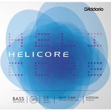Load image into Gallery viewer, D'addario H610-3/4M Helicore Orchestral Bass Set 3/4 Med