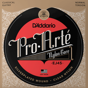 D'addario EJ45 Pro-Art Nylon, Normal Tension, Tie-end