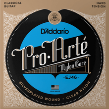 Load image into Gallery viewer, D'addario EJ46 Pro-Arte Hard Guitar Strings, Tie-end
