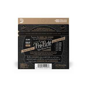 D'addario EJ46 Pro-Arte Hard Guitar Strings, Tie-end