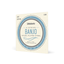 Load image into Gallery viewer, D'Addario EJ60 5-String Banjo Strings, Nickel, Light, 9-20