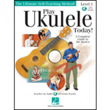 Load image into Gallery viewer, Hal Leonard HL00699638 Play Ukulele Method 1 with  cd