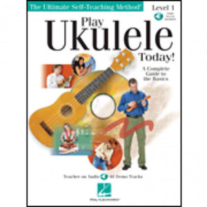 Hal Leonard HL00699638 Play Ukulele Method 1 with  cd