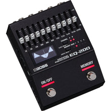 Load image into Gallery viewer, Boss EQ-200 Graphic Equalizer Effects Pedal