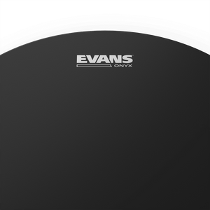 "Evans B12ONX2 12"" Onyx 2ply Coated Drum Head"