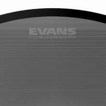 Load image into Gallery viewer, Evans BD22RONX Onyx Resonant Bass Drum Head, 22 Inch