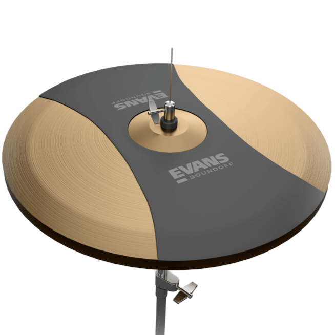 SoundOff SO14HAT by Evans Hi-Hat Mute, 14 Inch