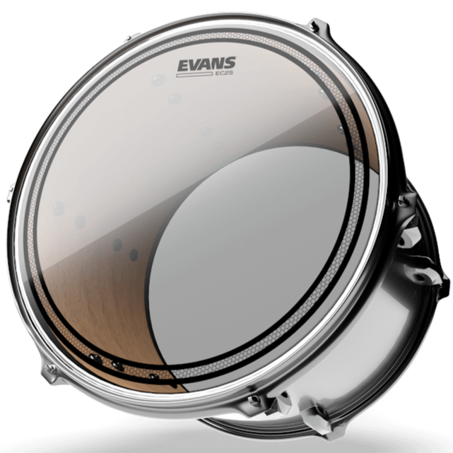 Evans TT10EC2S EC2 Clear Drum Head, 10 Inch