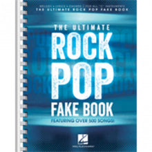 Load image into Gallery viewer, Hal Leonard HL00240310 The Ultimate Rock Pop Fake Book
