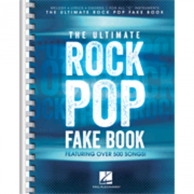 Hal Leonard HL00240310 The Ultimate Rock Pop Fake Book