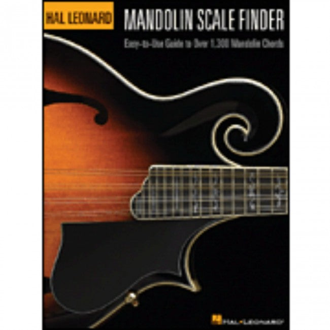 Hal Leonard HL00695779 Mandolin Scale Finder