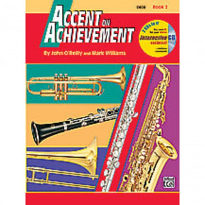 Alfred A-18256 Accent on Achievement Book 2 - Oboe