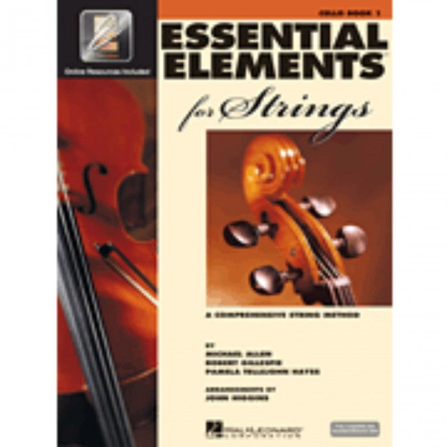 Hal Leonard HL00868051 Essential Elements Strings Book 1 with EEi - Cello