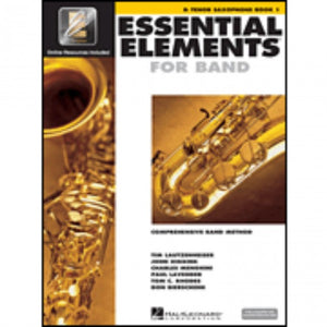 Hal Leonard HL00862573 Essential Elements Book1 with EEI - Tenor Saxophone