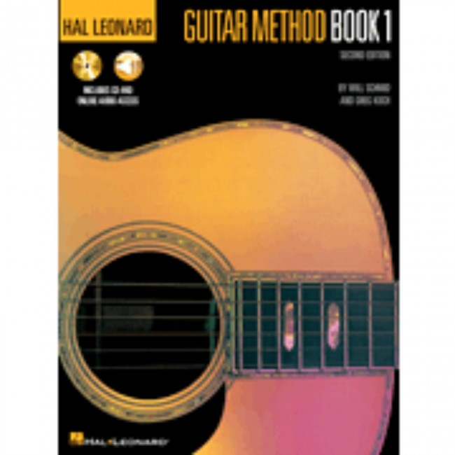 Hal Leonard HL00699027 Guitar Method Book 1 with  CD