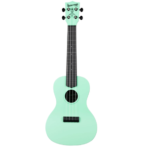 Kala Kala KA-CWB-GN Waterman Concert Ukulele, Sea Foam Green - Easy Music Center