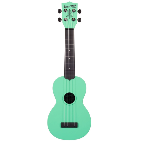 Kala Kala KA-SWB-GN Waterman Soprano Ukulele, Sea Foam Green - Easy Music Center