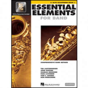 Hal Leonard HL00862572 Essential Elements Book1 with EEI - Alto Saxophone