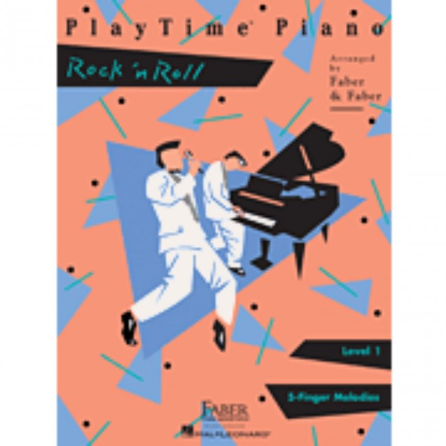 Hal Leonard HL00420128 PlayTime Piano - Level 1 - Rock n Roll