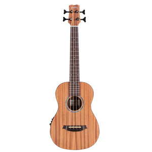 Cordoba MINI-II-BASS-MH Mini II Acoustic-Electric Bass Guitar, Mahogany