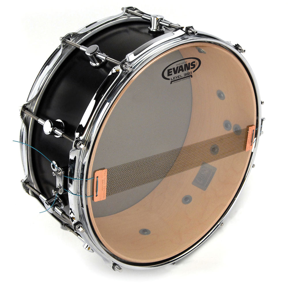 Evans S14H20 Clear 200 Snare Side Drum Head, 14 Inch