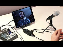 Load and play video in Gallery viewer, IK Multimedia IRIG-STREAM iRig Stream stereo audio interface for Mobile Devices