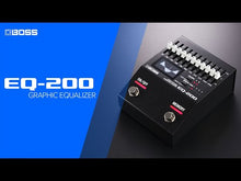 Load and play video in Gallery viewer, Boss EQ-200 Graphic Equalizer Effects Pedal
